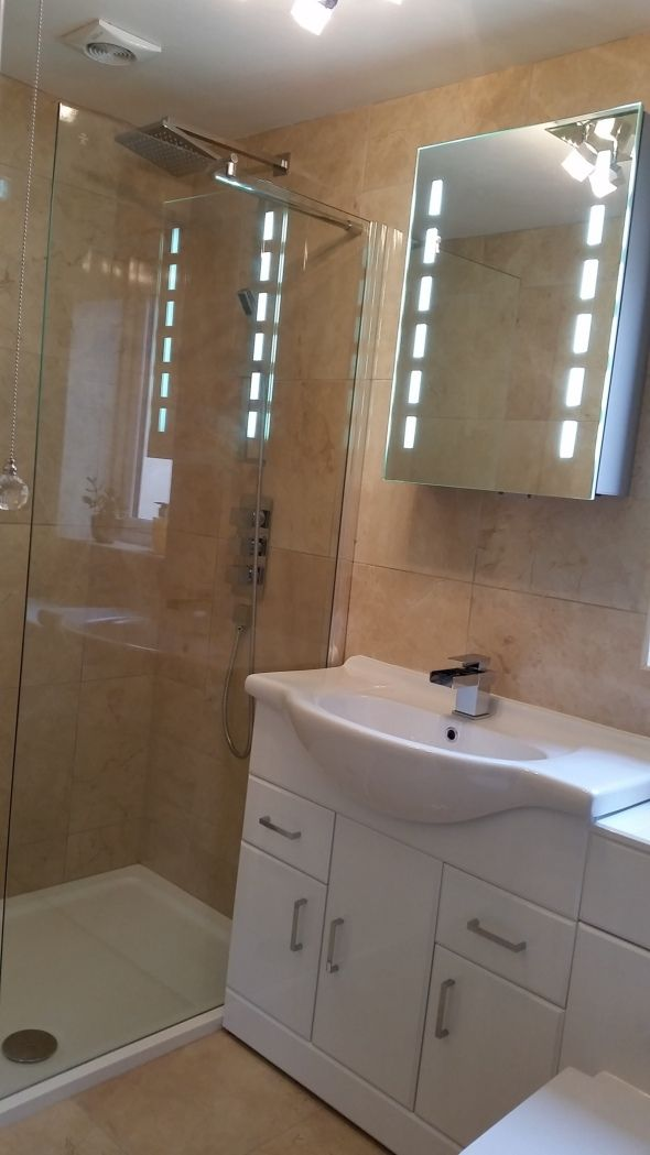 Cheap Illuminated Bathroom Mirrors: #VPShareYourStyle Abby From Portsmouth Lights Up Her
