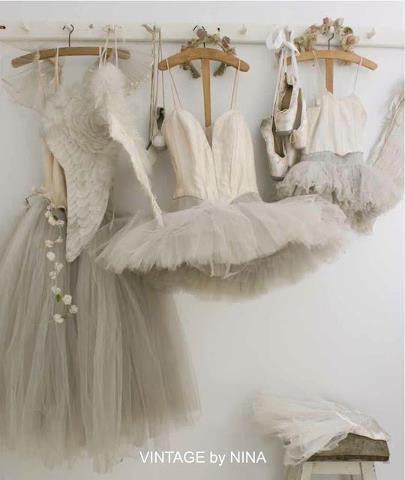 Beautiful assortment of vintage tutus.