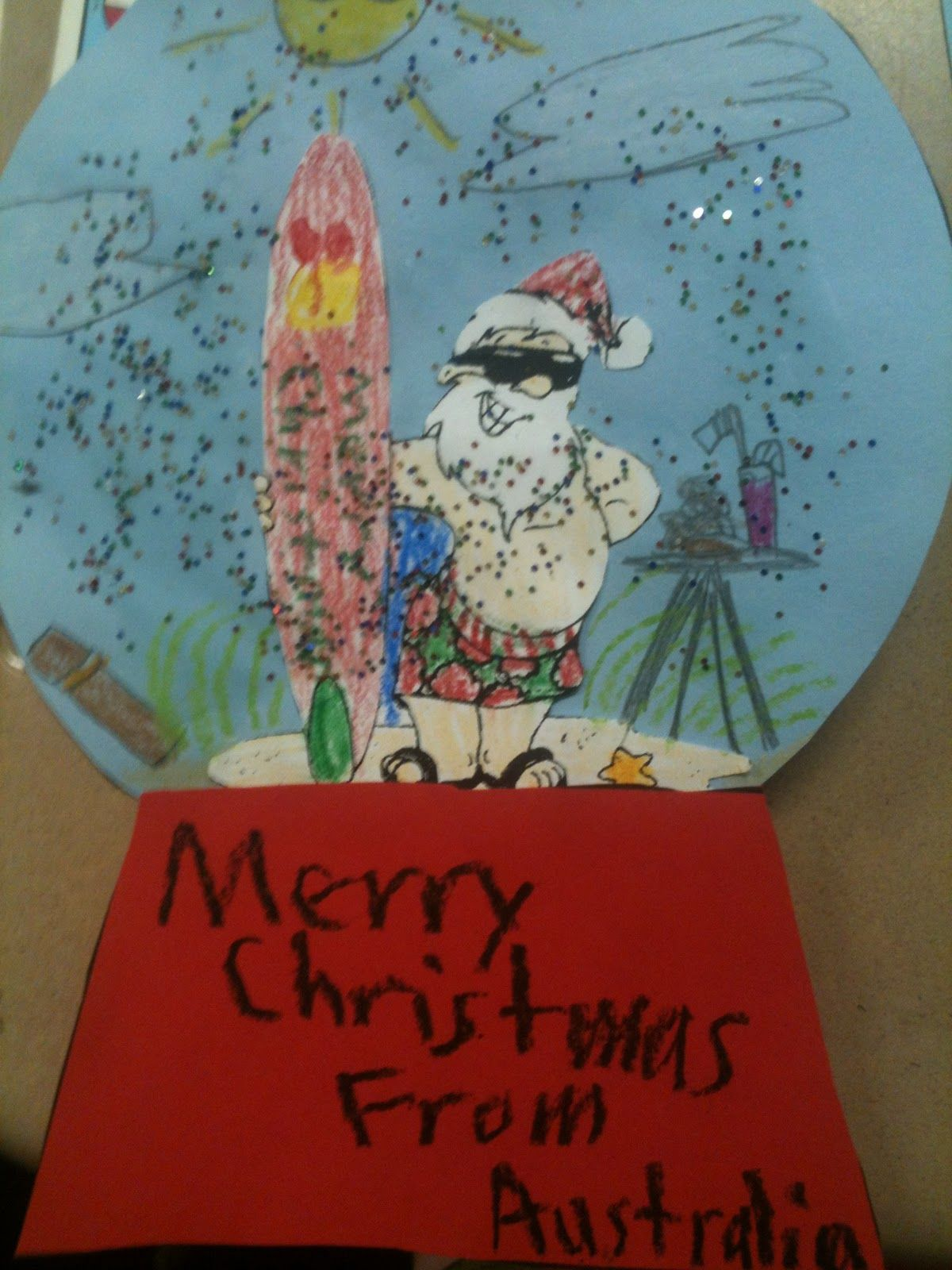 Christmas around the world great ideas this is surfin