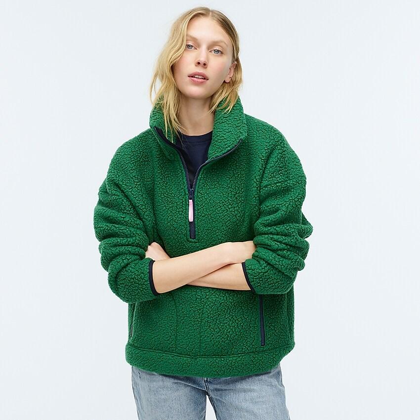 Polartec® Fleece Halfzip Pullover Jacket J.Crew