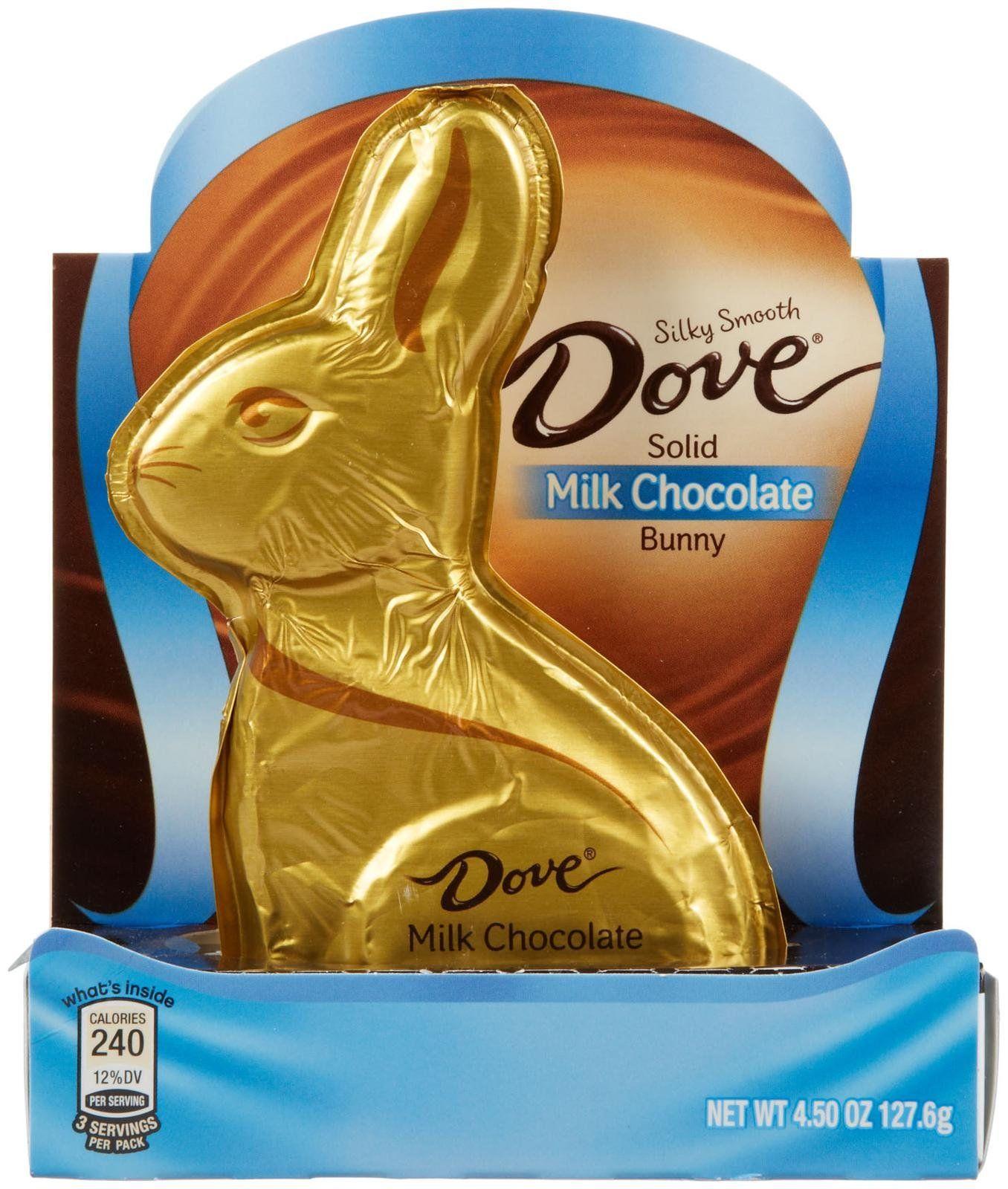 Silky Smooth Dove Solid Milk Chocolate Bunny Chocolate