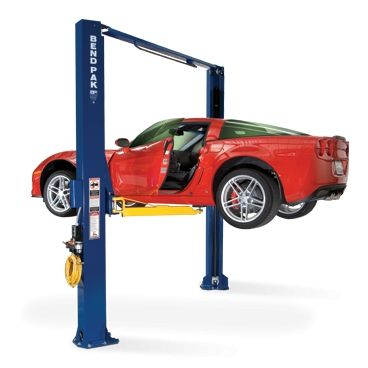 The Complete Guide On Installing A 2 Post Car Lift For Your Shop Or Garage Two Post Car Lift Two Post Lift 2 Post Car Lift