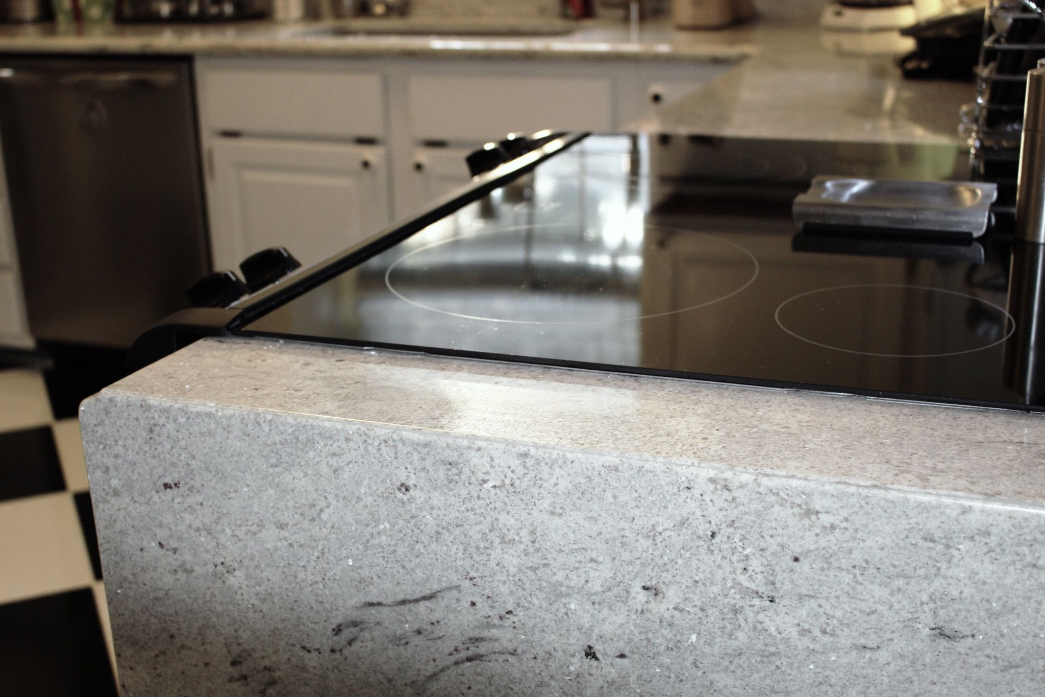 White River Granite Kitchen Pencil Edge By Emerald Pearl Kitchen