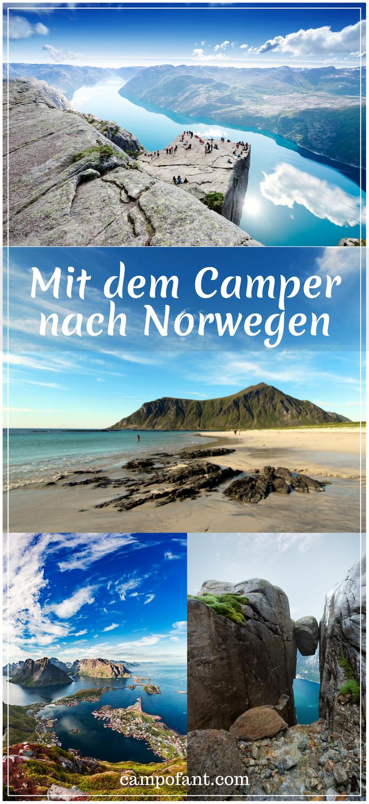 Mit dem Wohnmobil nach Norwegen: Tipps + Erfahrungen - Campofant