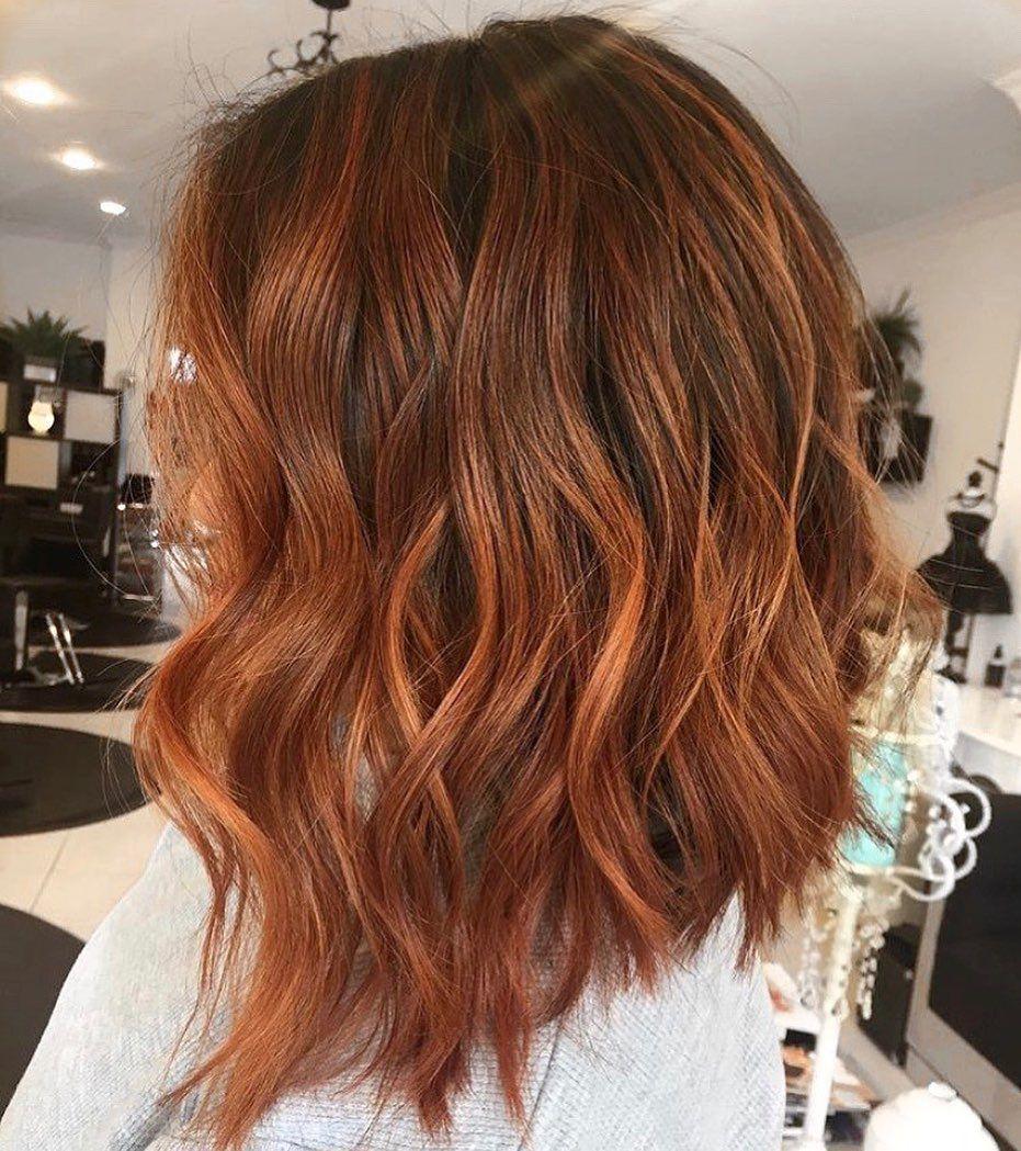 9+ Auburn Haarfarbe Ideen Helle, mittlere und dunkle Farbtöne ...