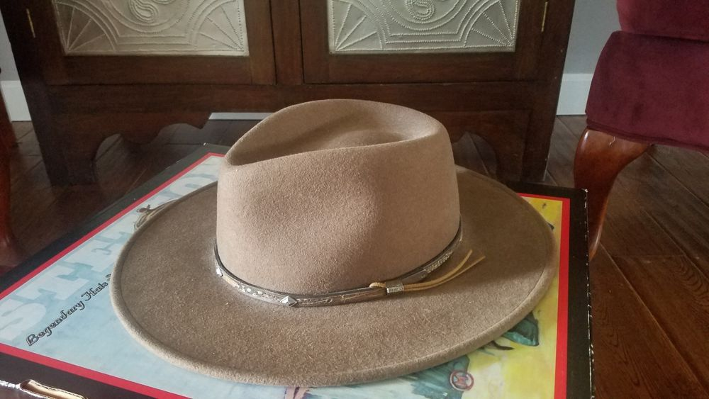 Stetson MOUNTAIN SKY Crushable Wool Hat Brown XXL (Made in USA)  fashion   3b3e470529d