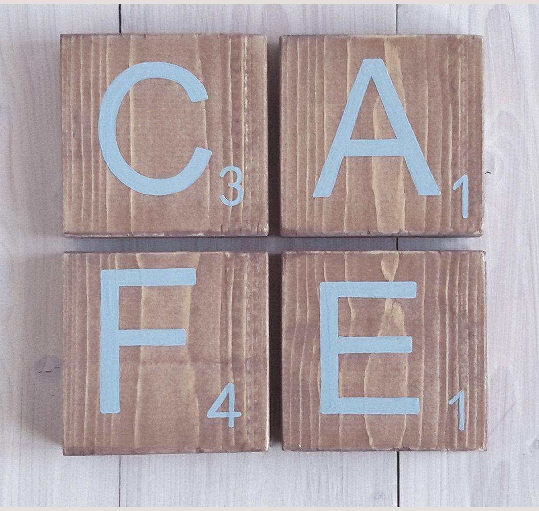 Lettre cuisine déco #cafe #lettredeco #lettrecuisine #decomood