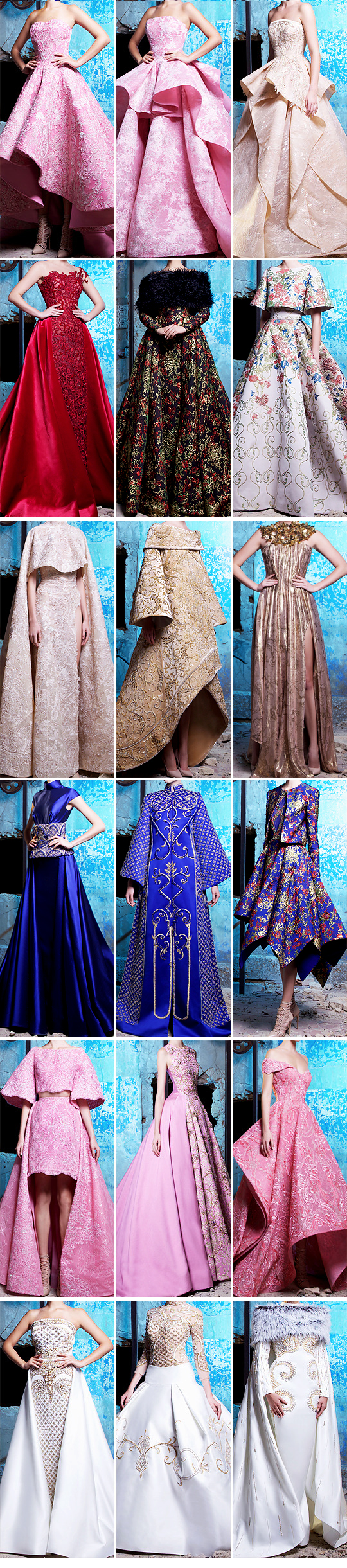 Saiid Kobeisy Couture Fall/Winter 2016-2017 Collection