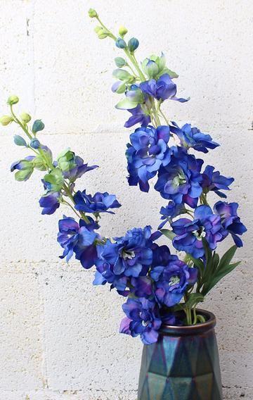 Faux delphinium stem in dark bluebr365 tall flor al to see faux delphinium stem in dark bluebr365 tall flor al to see pinterest delphiniums flower arrangements and flowers mightylinksfo