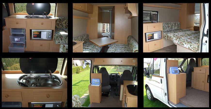 Lwb T5 Camper Conversion Layout