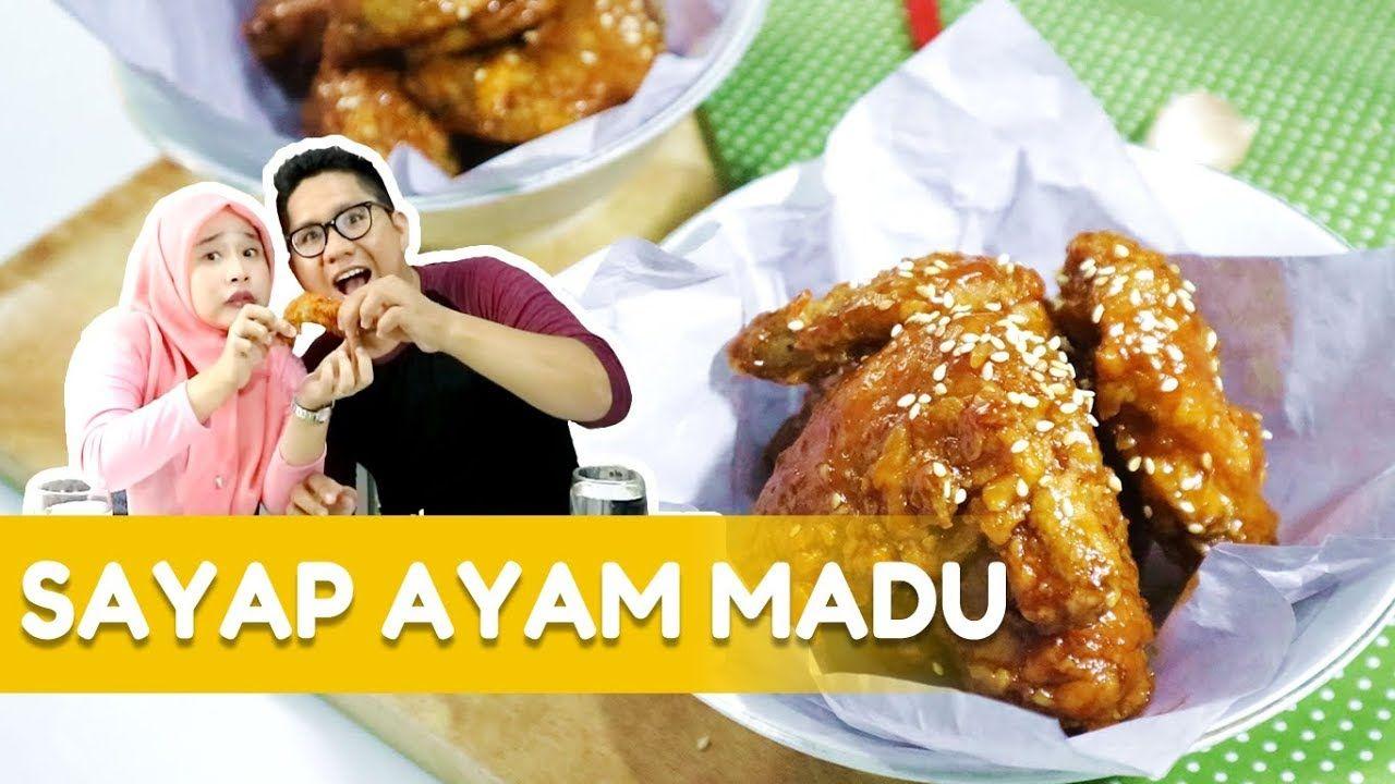 Resep Dan Cara Membuat Honey Chicken Wings Ala Dapur Adis Sayap Ayam Madu Ayam