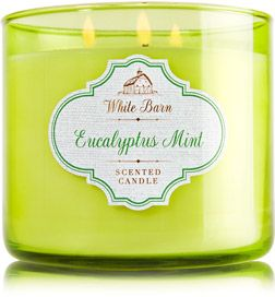 Eucalyptus Mint 3-Wick Candle - Home Fragrance 1037181 - Bath & Body Works