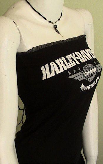 HARLEY DAVIDSON metal rocker biker DIY Women Corset by obskura, $49.99