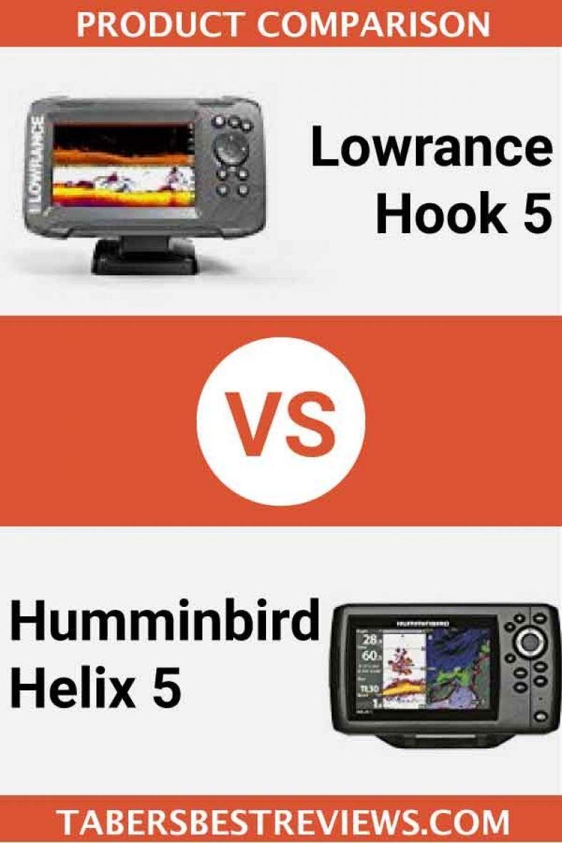 Lowrance Hook 5 VS Humminbird Helix 5 – Head To Head