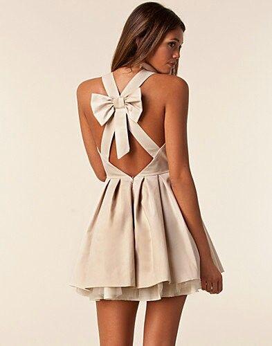 Bow dress!
