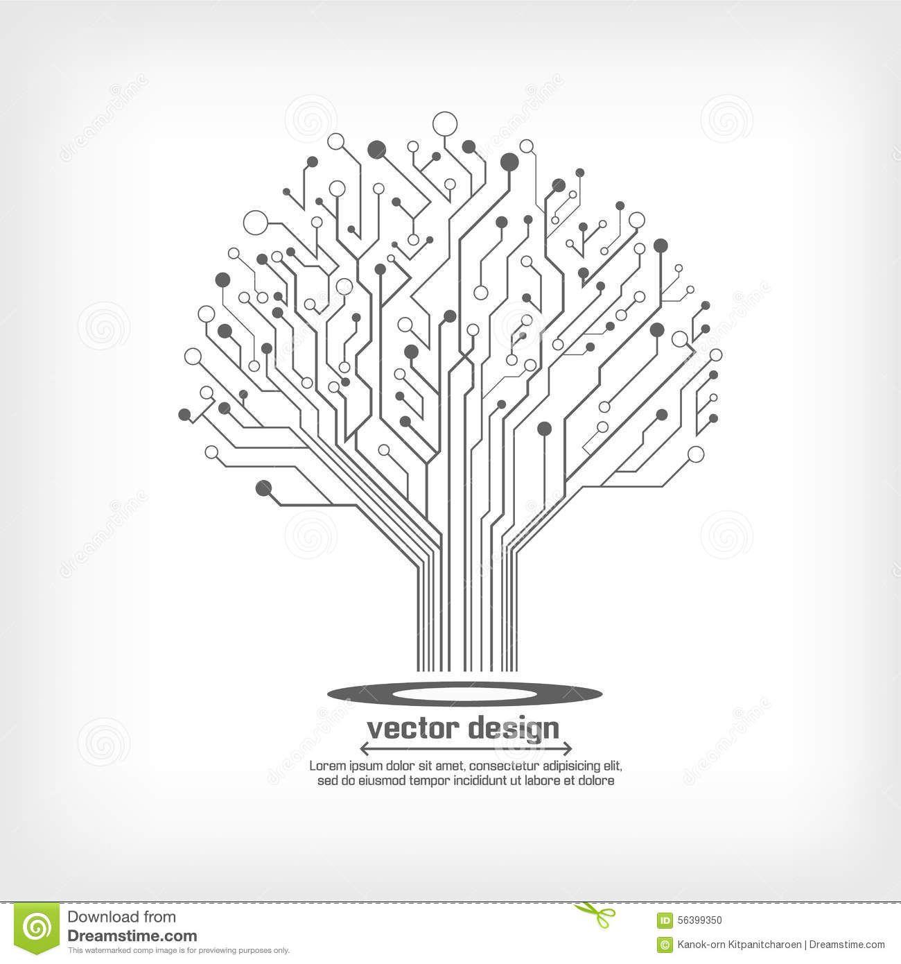 r u00e9sultats de recherche d u0026 39 images pour  u00ab circuit electronique graphisme arbre  u00bb