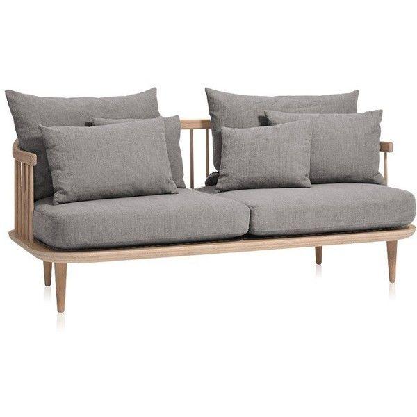 Tradition FLY Sofa SC2   Chivasso Hot Madison 1249/04 Oiled Oak ($3,700