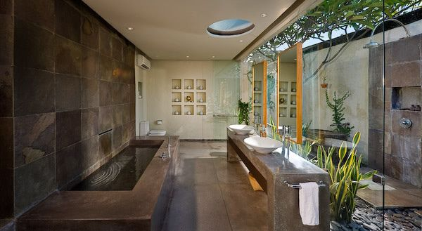 Villa belong dua flickr photo sharing also open space nature bathroom pinterest banos rh co