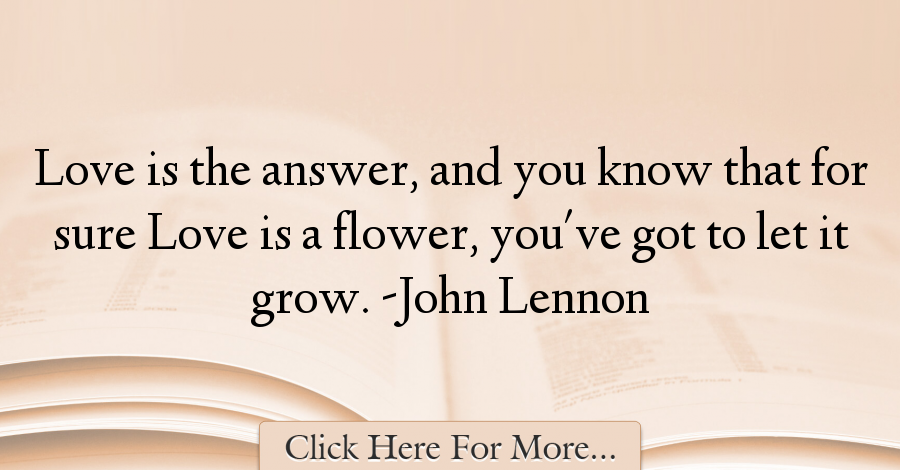 John Lennon Quotes About Love - 43301