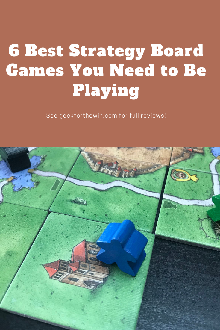 Here are the 6 best strategy board games according to parameters