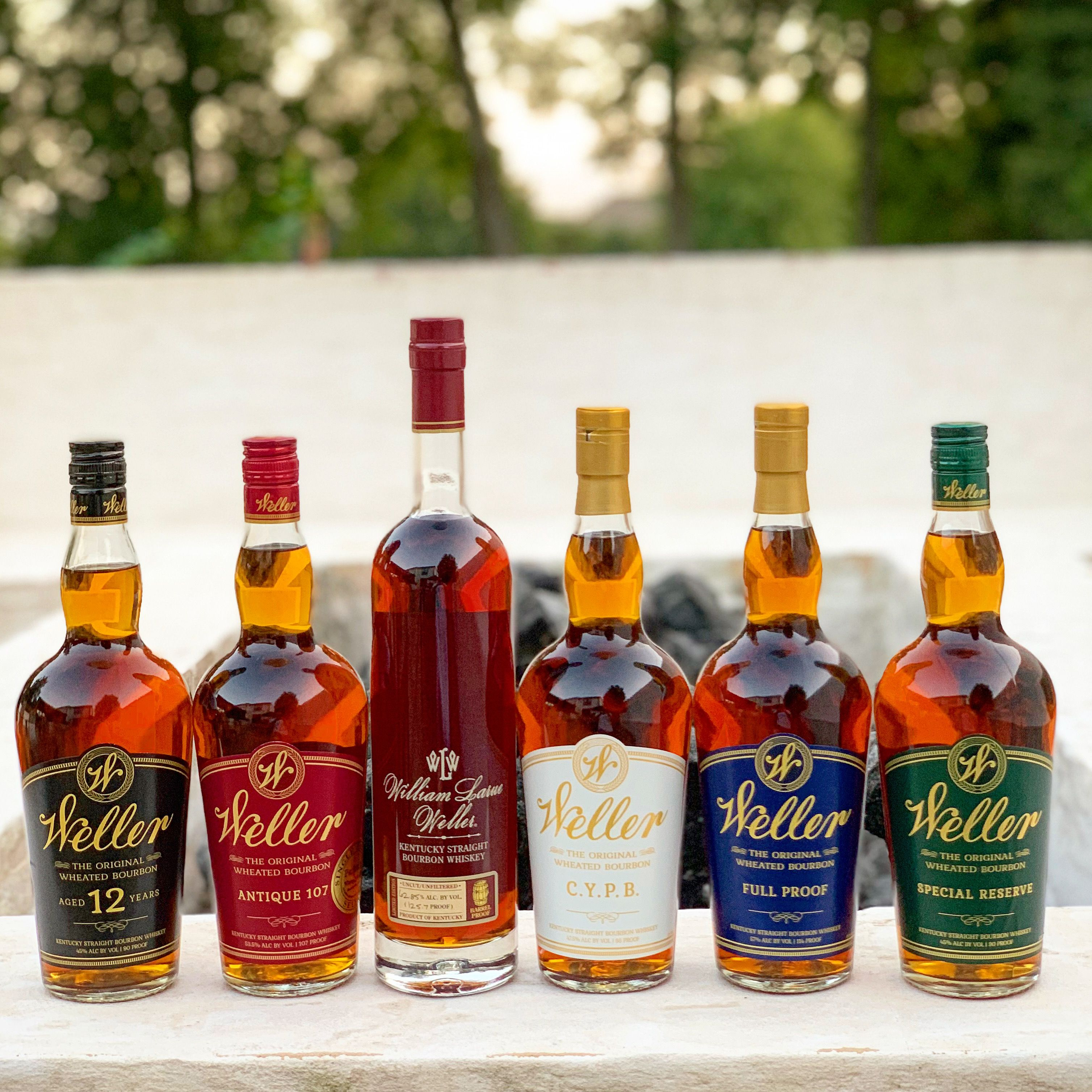 The Ultimate Weller Bourbon Collection Borrowed From Brothersinbourbon Instagram In 2020 Best Bourbon Whiskey Bourbon Liquor Weller Bourbon