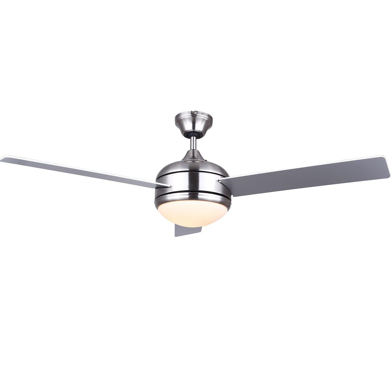 Canarm Calibre Cf15148351s Nickel Ceiling Fan 48 Reversible