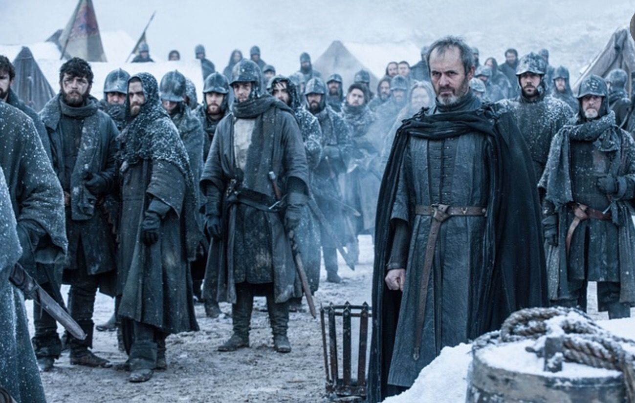 Stannis And His Forces Prepare To Face The Bolton Armor With