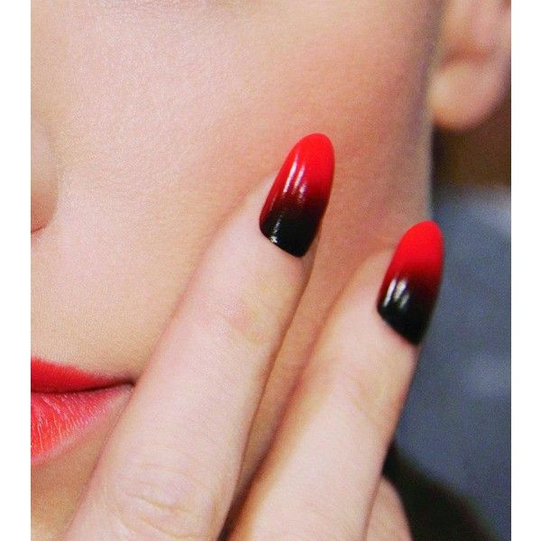 Salon Geek Liked On Polyvore Featuring Nails