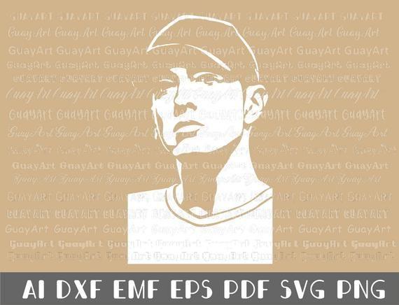 Eminem,digital download files ai,dxf,emf,eps,pdf,svg,png