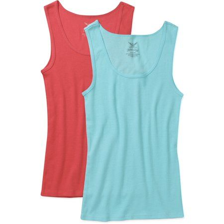 """BRAND NEW /""""FADED GLORY/""""  RIB TANK TOP  in SOLID RED DESIGN"""