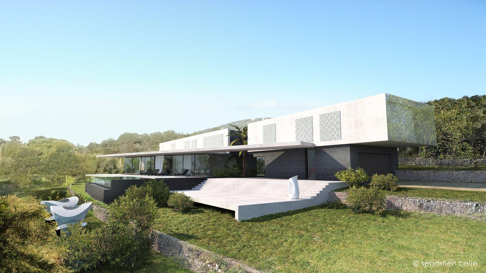 Maison contemporaine dans le Var.Architectes maisons contemporaines ...