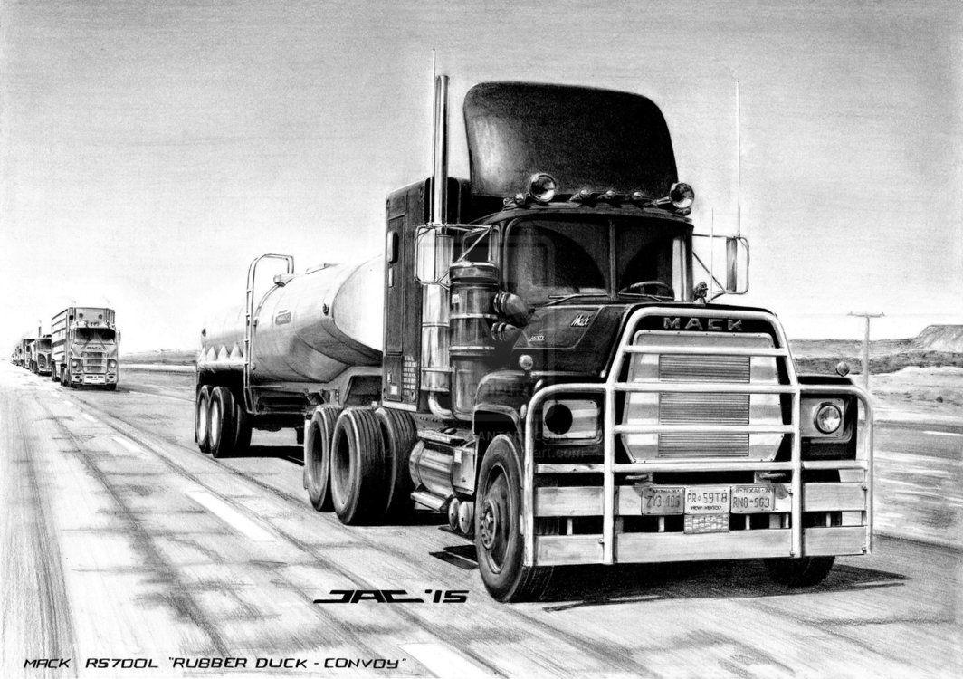 MACK RS700L \'RUBBER DUCK - CONVOY\' by krzysiek-jac on DeviantArt ...