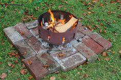 Feuerschale Selber Machen | Eine Feuerschale Günstig Und Schnell Selber  Gebaut Ohne Zu Schweißen .