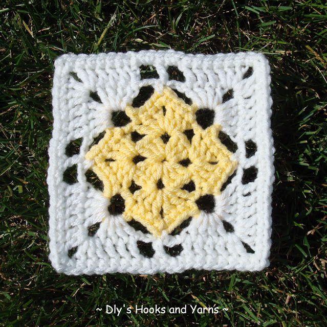 5 12 Square In Square Pattern Add A Double Crochet Or Scallop