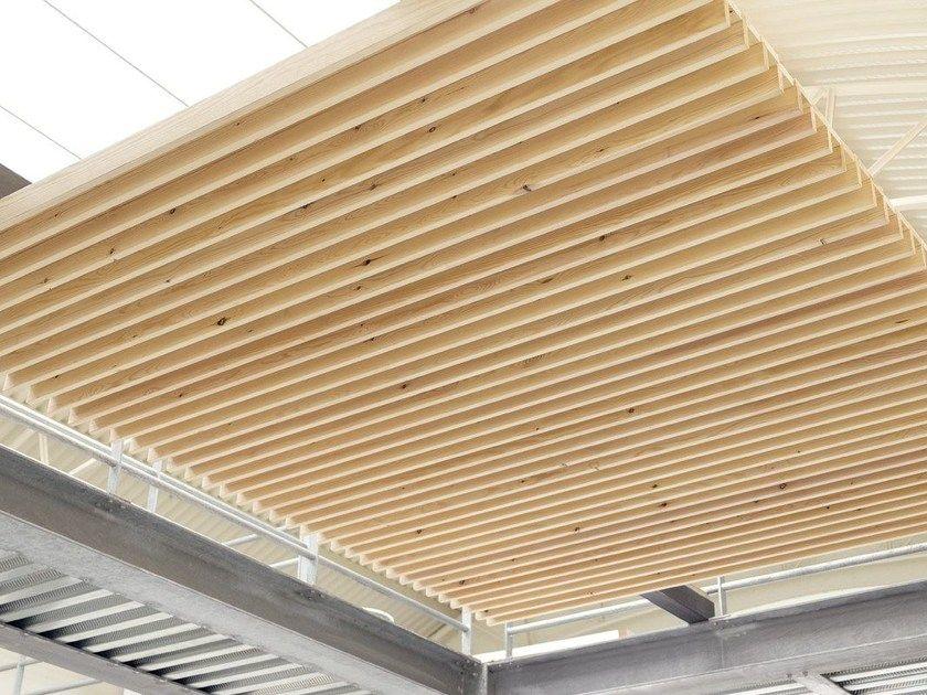 Téléchargez le catalogue et demandez les prix de Nodoo | wooden ceiling By nodoo, panneau pour plafonds suspendus en bois