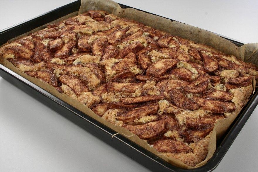 Sæt ovnen på 175 grader C. alm. ovn. <BR> <BR> Smør en bradepande ca. 23x33 cm. med fedtstof og strø lidt kokosmel eller rasp på eller for med bagepapir. <BR> <BR> Hak chokoladen groft. <BR> Skræ
