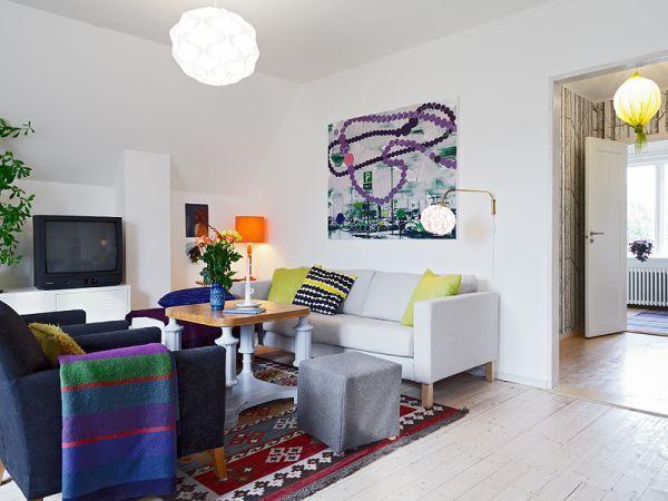 Nordic Interior Design Idea for a Vibrant Contemporary Home Nordic