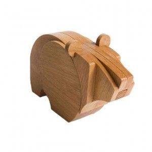 Große Groso Holzfigur