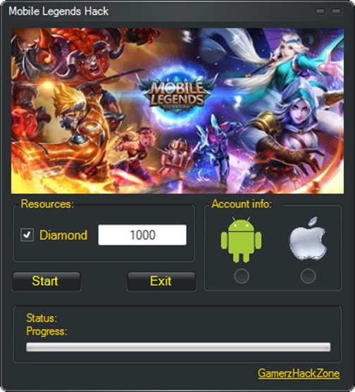 Mobile Legends Hack Diamond | gamerz hack zone in 2019