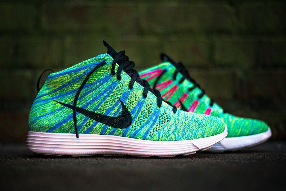 Nike Couleurs Chukka De Flyknit Sans Film