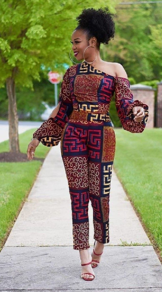 Creatively Hot Ankara Styles for Ladies #africanprintdresses #afrikanischemode