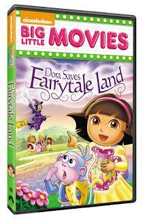 NEW Dora the Explorer: Dora Saves Fairytale Land DVD Review & Giveaway (Ends 6/9)  http://couponsavvysarah.blogspot.com/2015/06/new-dora-explorer-dora-saves-fairytale.html