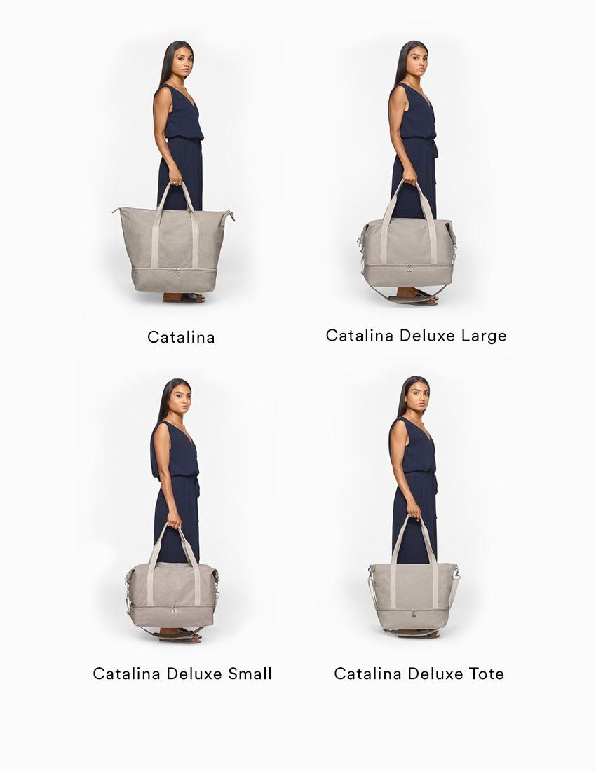 24d8364e4eb The Catalina Deluxe - Washed Canvas - Dove Grey | Travel | Canvas ...