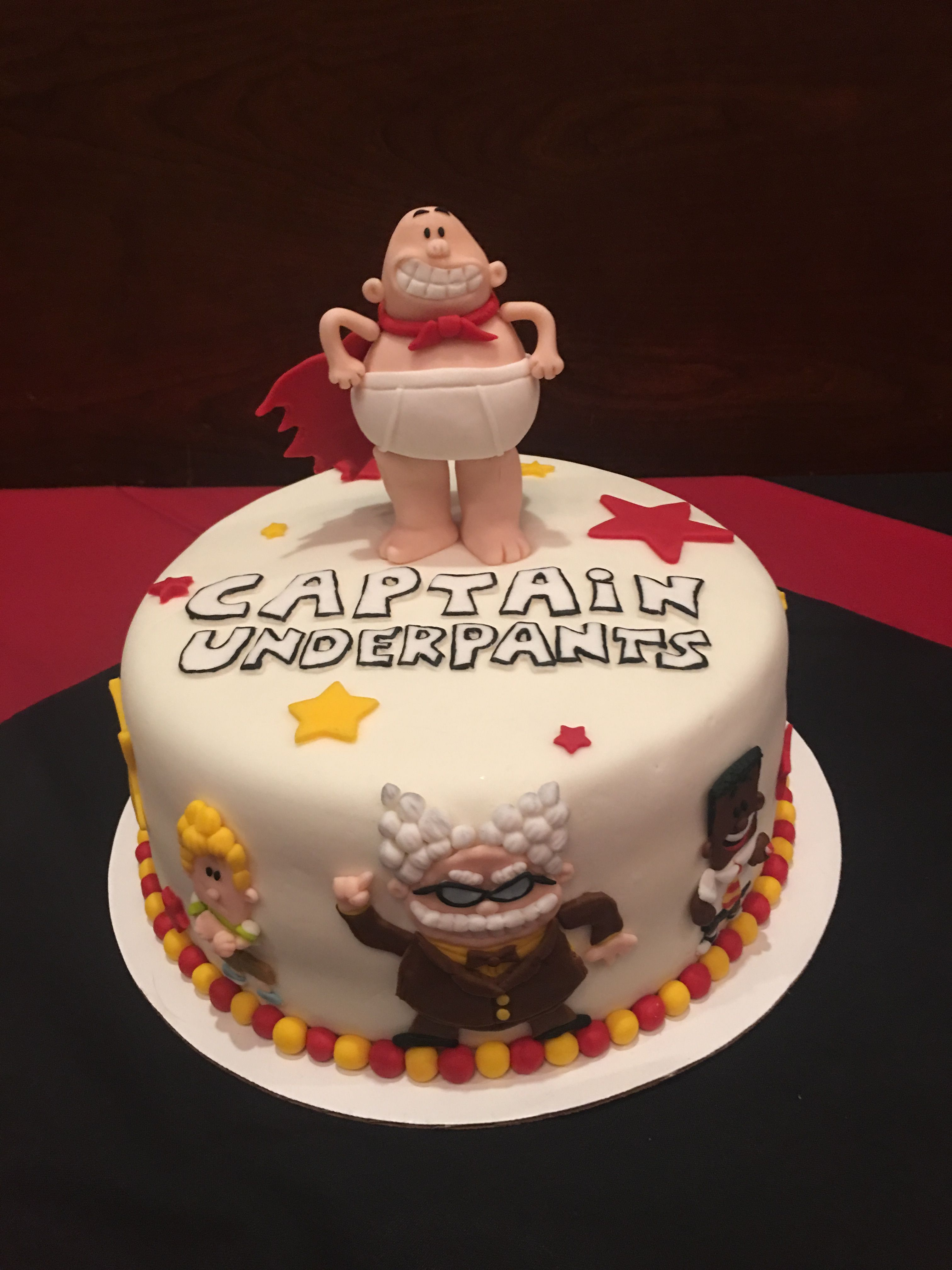 Captain Underpants Cake 9th Birthday Boy Parties Cakes For