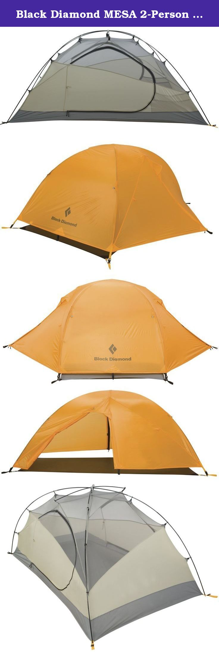Black Diamond MESA 2-Person Tent Marigold/Gray. Primed for weekend car  sc 1 st  Pinterest & Black Diamond MESA 2-Person Tent Marigold/Gray. Primed for ...