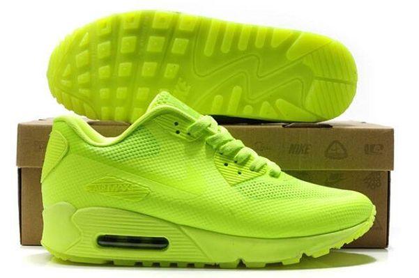 Nike Air Max 90 USA Flag Hyperfuse QS Volt Lime Yellow