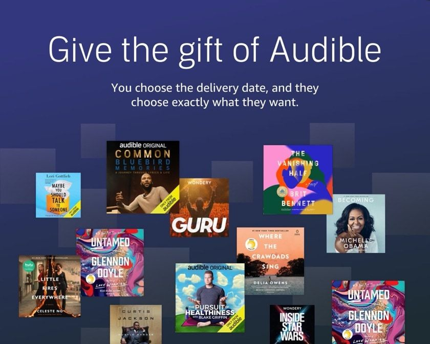25 gifts for audiobook lovers that will indulge all senses