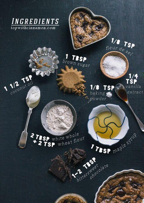 Deep-Dish, Single-Lady, Salted Whole Wheat Vegan Chocolate Chip Cookie. #wholegrain #coconut #snacks