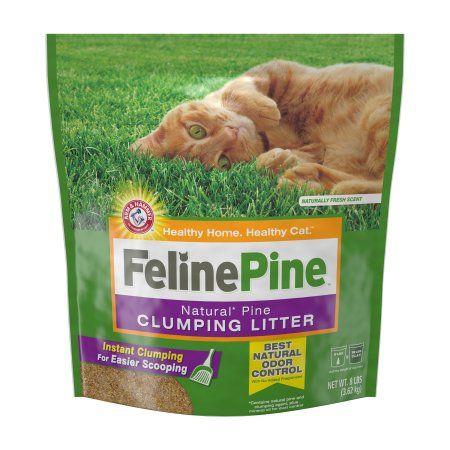 Pets Pine cat litter, Clumping cat litter, Natural cat