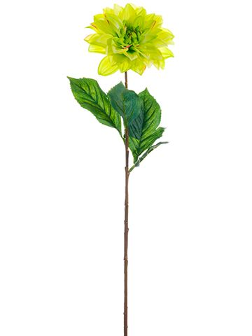 Dahlia silk flower in bright lime green 30 tall decorar dahlia silk flower in bright lime green 30 tall mightylinksfo